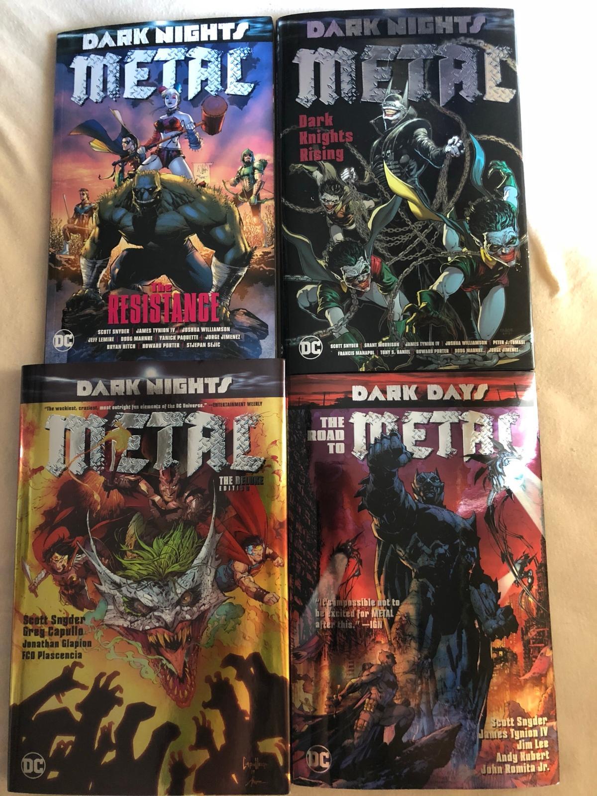 Ein Nachwort zu Dark Nights: Metal |Gedankenspiel