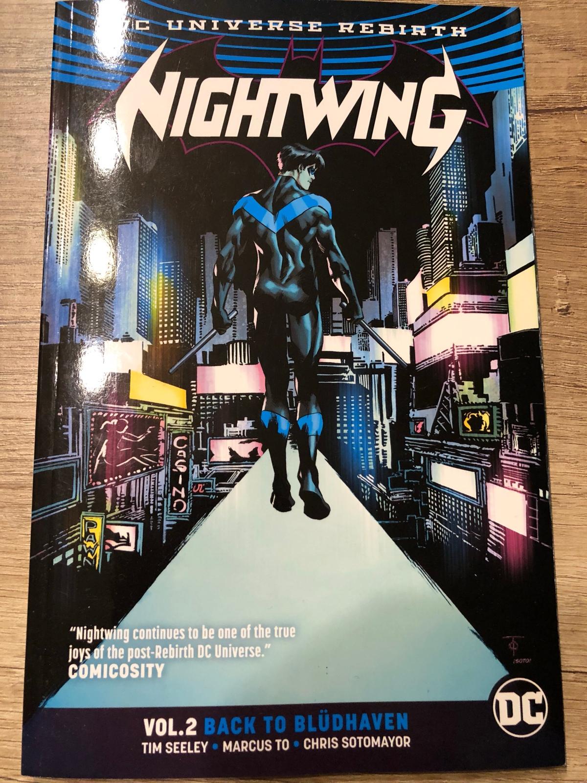Nightwing Vol. 2: Back to Blüdhaven (DC Rebirth) |Review