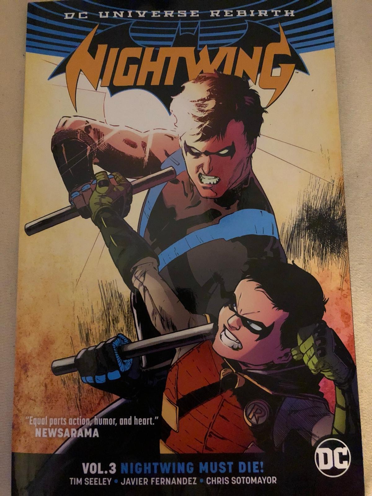 Nightwing Vol. 3: Nightwing must Die! (DC Rebirth) |Review