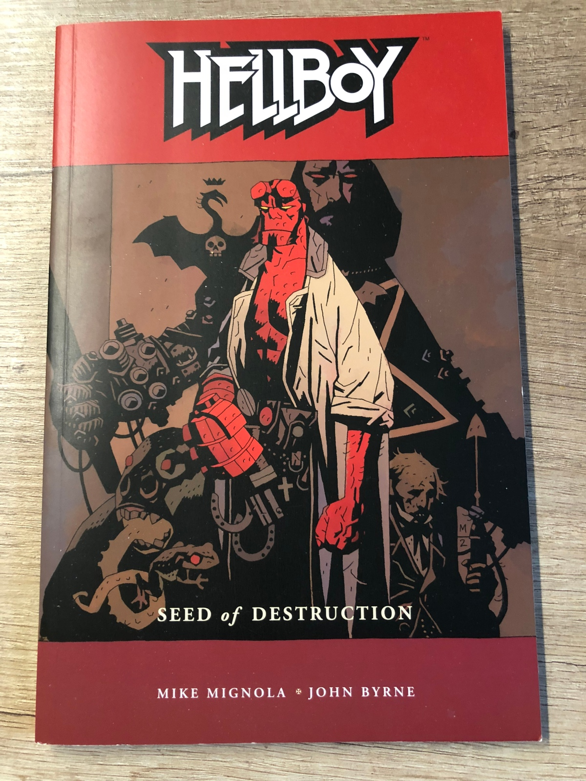 Hellboy Vol. 1: Seed of Destruction |Review