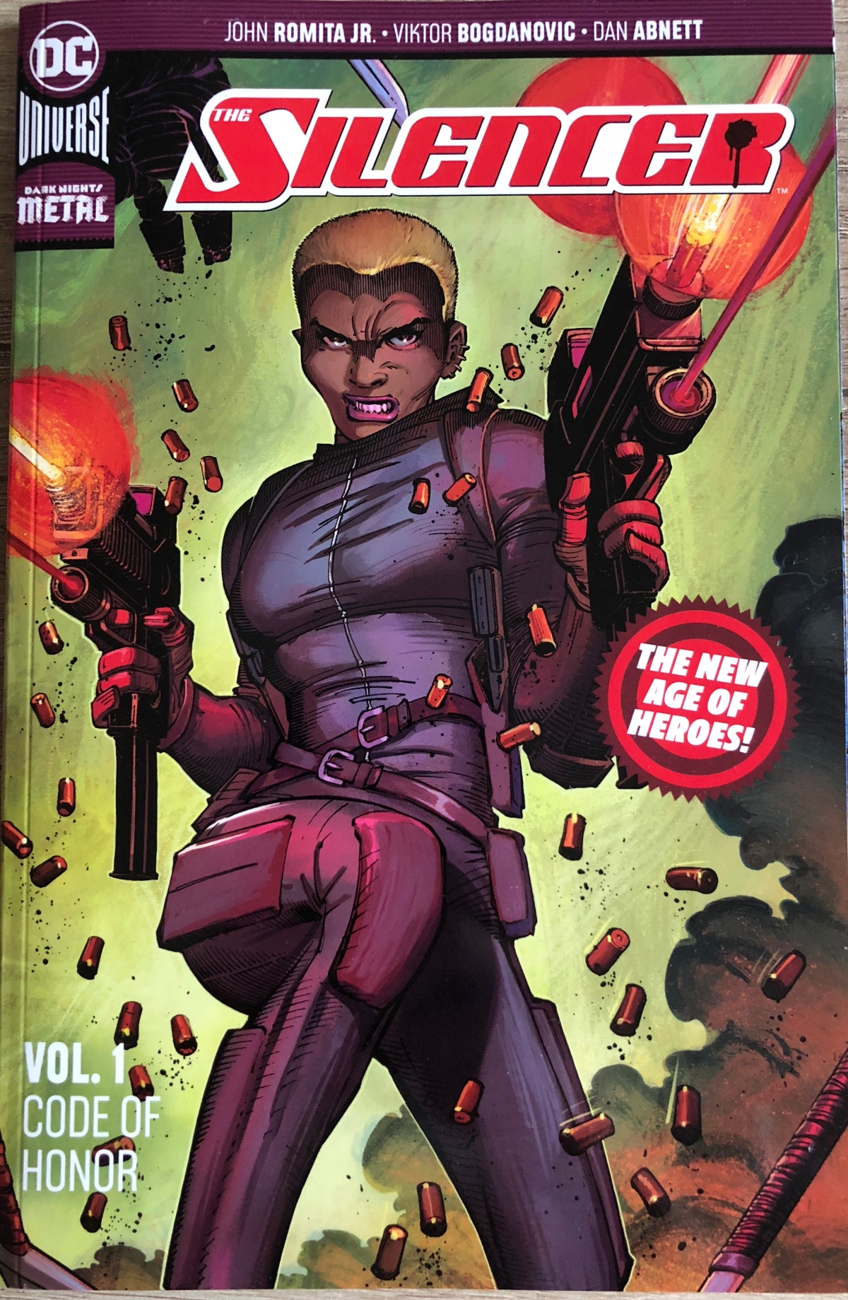 The Silencer Vol. 1: Code of Honor [New Age of Heroes] |Review