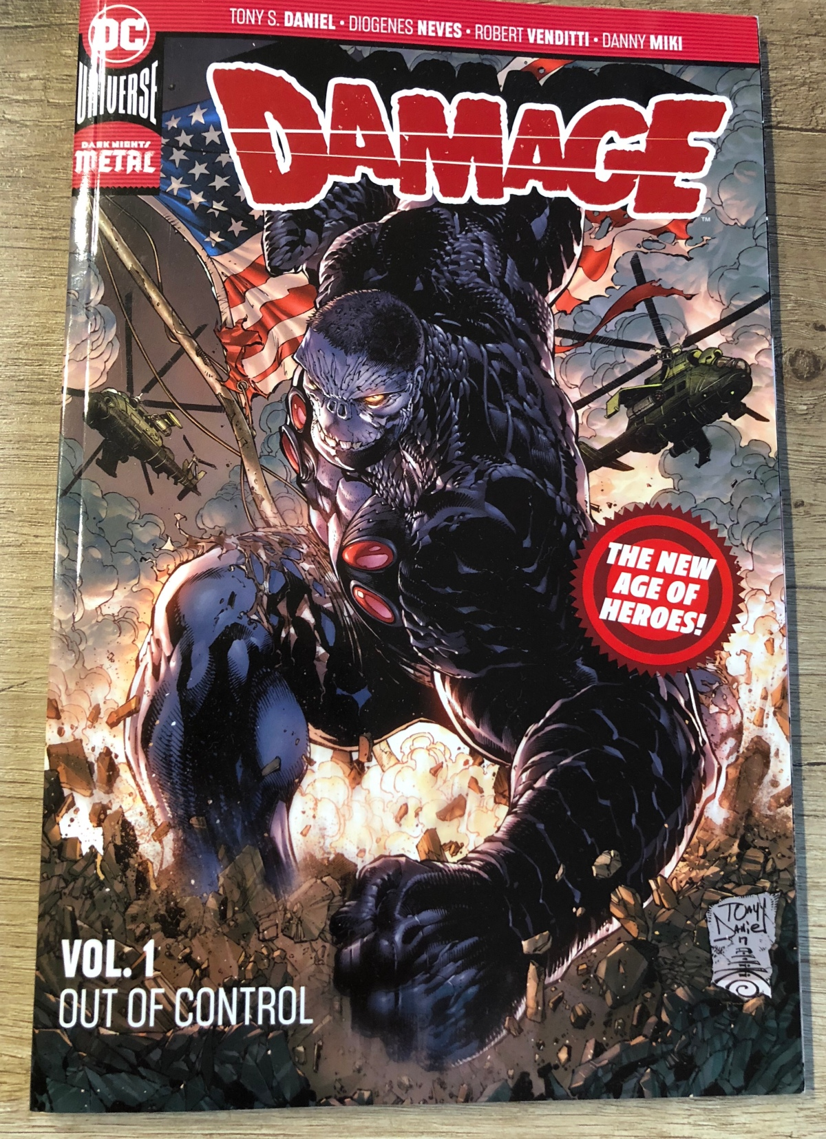 Damage Vol. 1: Out of Control | Review [The New Age ofHeroes]