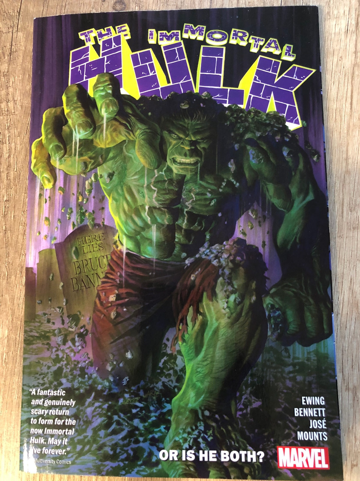 The Immortal Hulk Vol. 1: Or is he both? | English Review#8