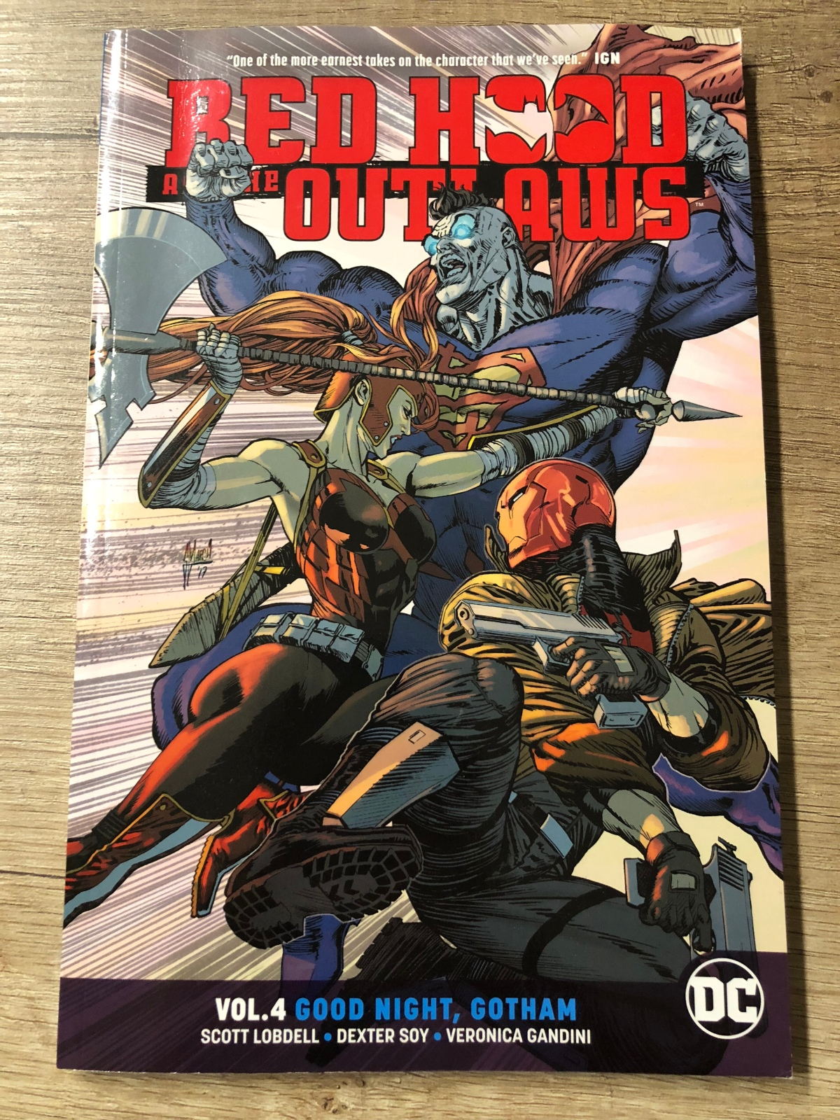 Red Hood and the Outlaws Vol. 4: Good Night, Gotham |Review