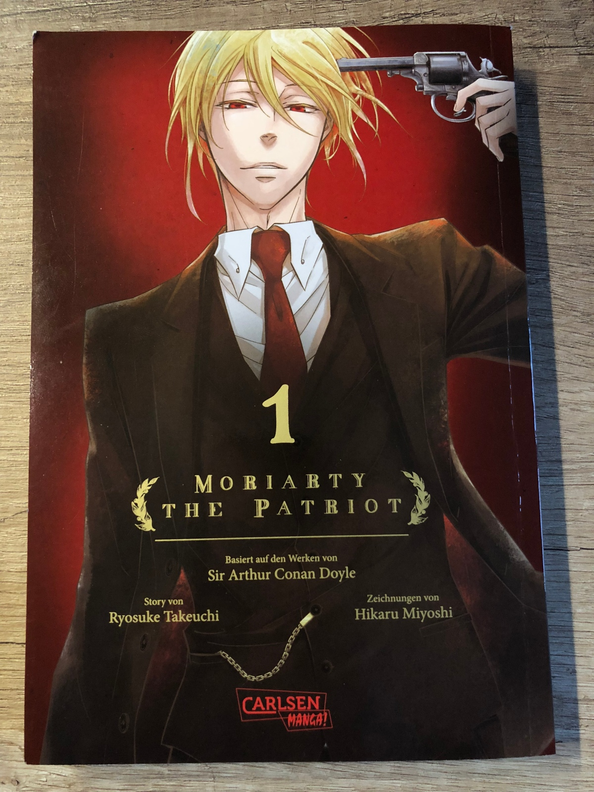 Moriaty the Patriot 01 |Review