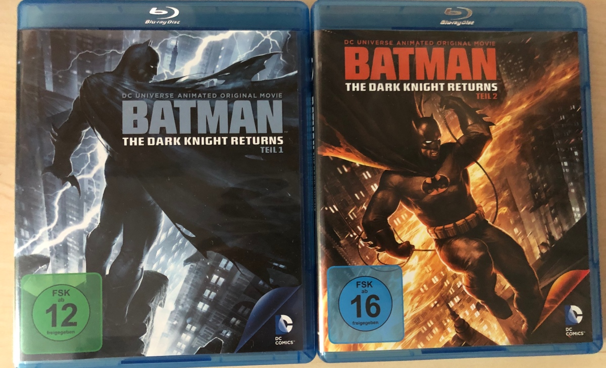 The Dark Knight Returns (Part 1 & 2) |Review