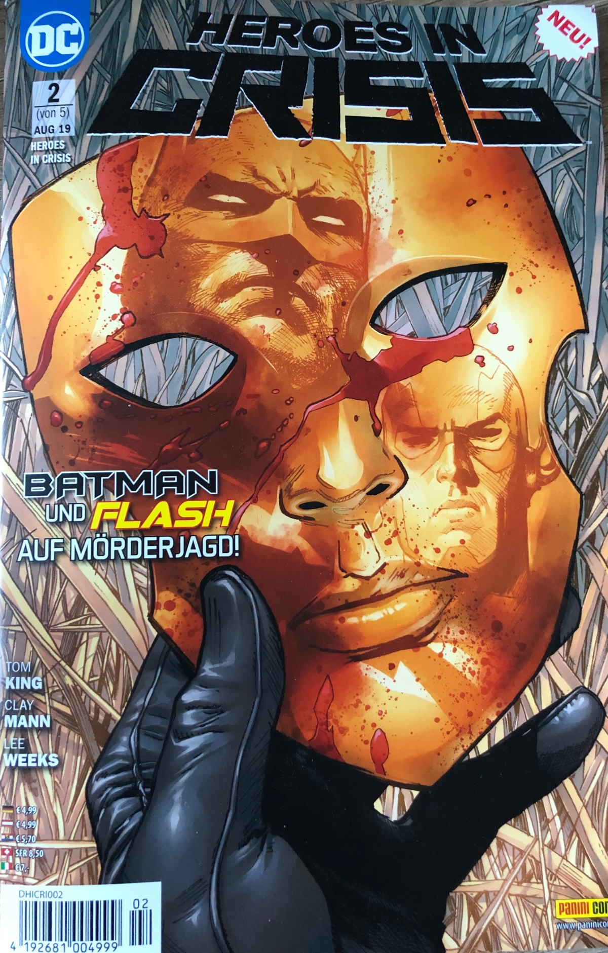 Heroes in Crisis Band 2 (#3 & #4)Review