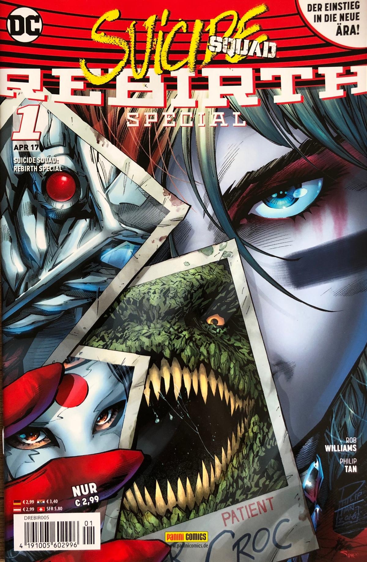 Suicide Squad Rebirth Special |Review