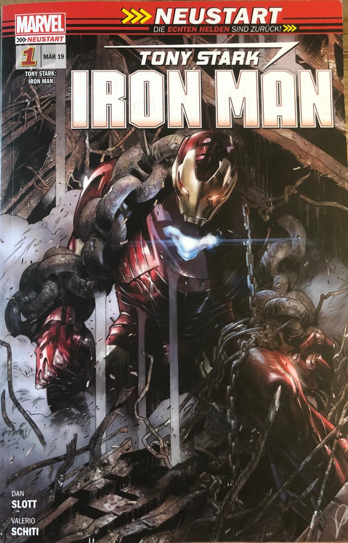 Iron Man Band 1: Die Rückkehr der Legende |Review