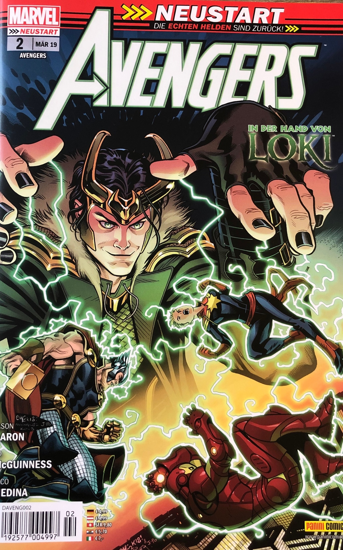 Avengers #2 & #3 (Neustart) |Review