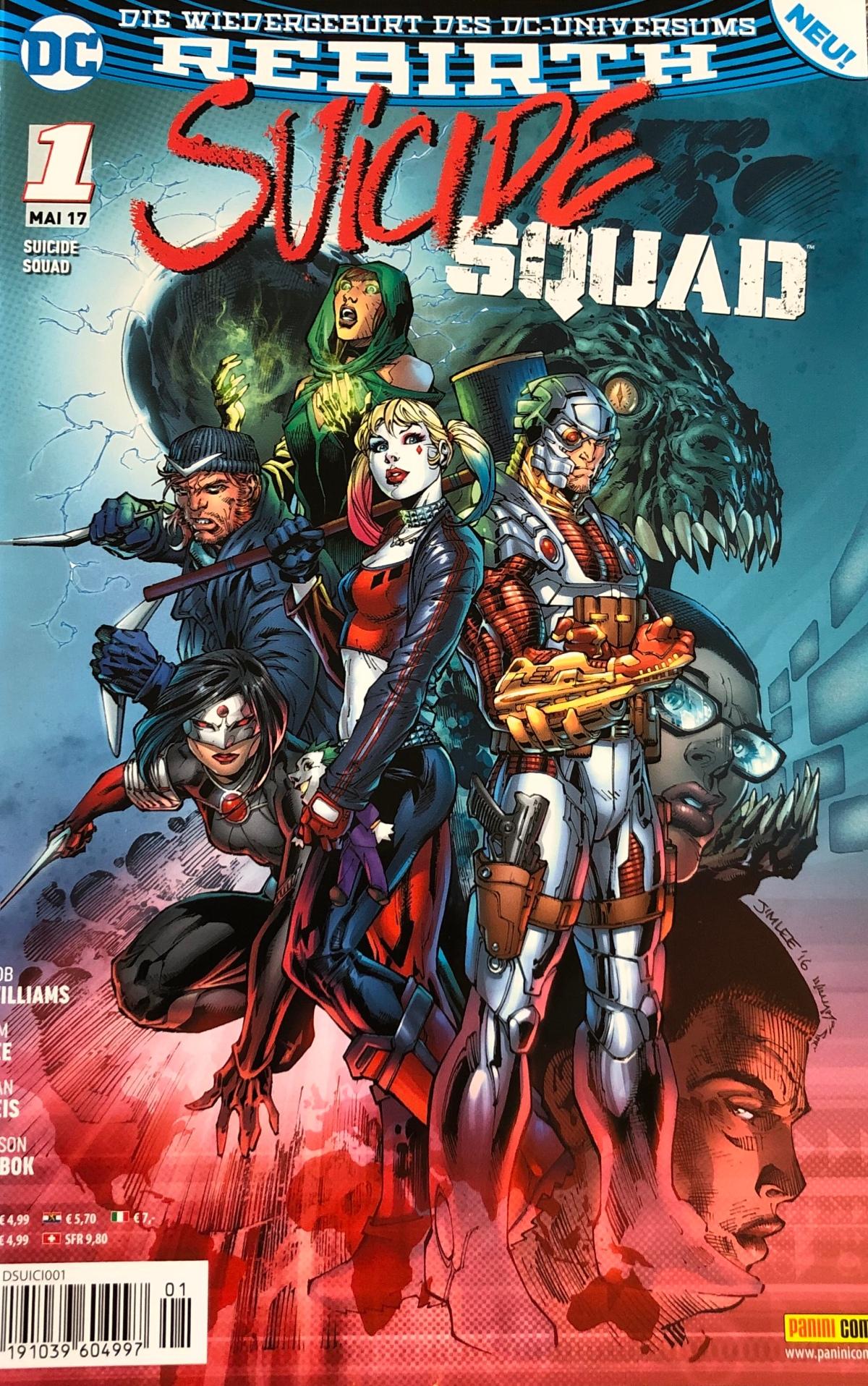 Suicide Squad #1 & #2 (DC Rebirth)| English Review#20