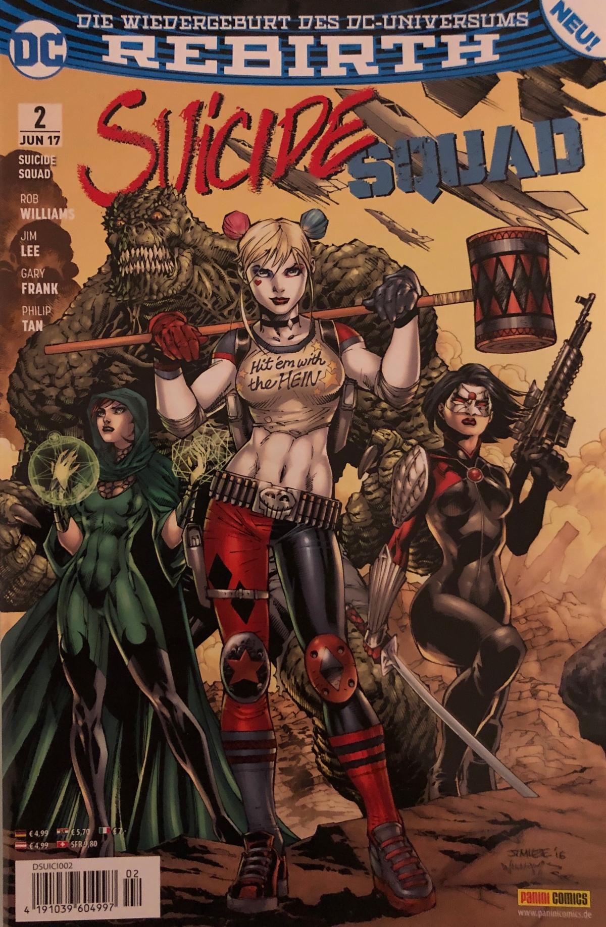 Suicide Squad #3 & #4 (DC Rebirth)|Review