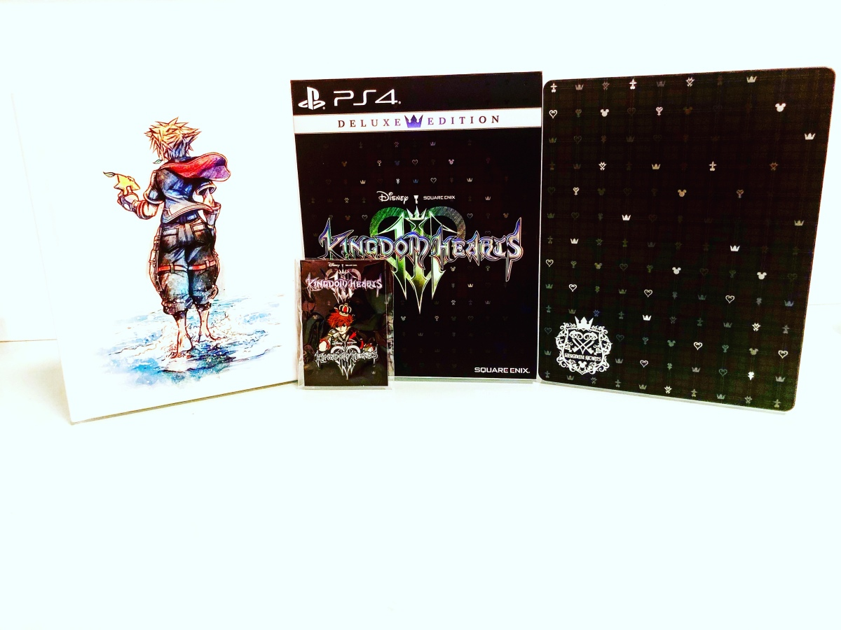 Unboxing: Kingdom Hearts 3 DeluxeEdition
