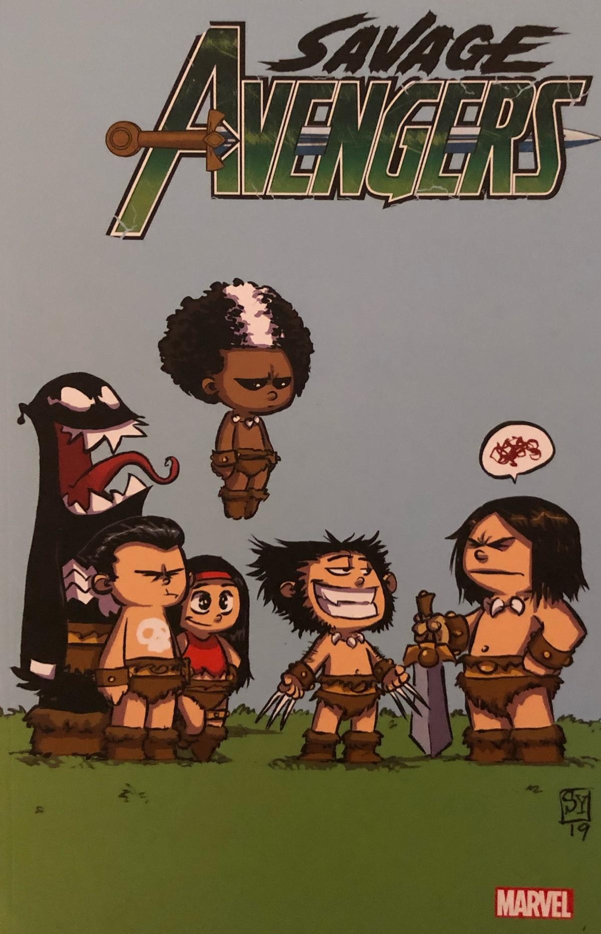 Savage Avengers Band 1: Die Stadt der Sicheln (Marvel Neustart) |Review