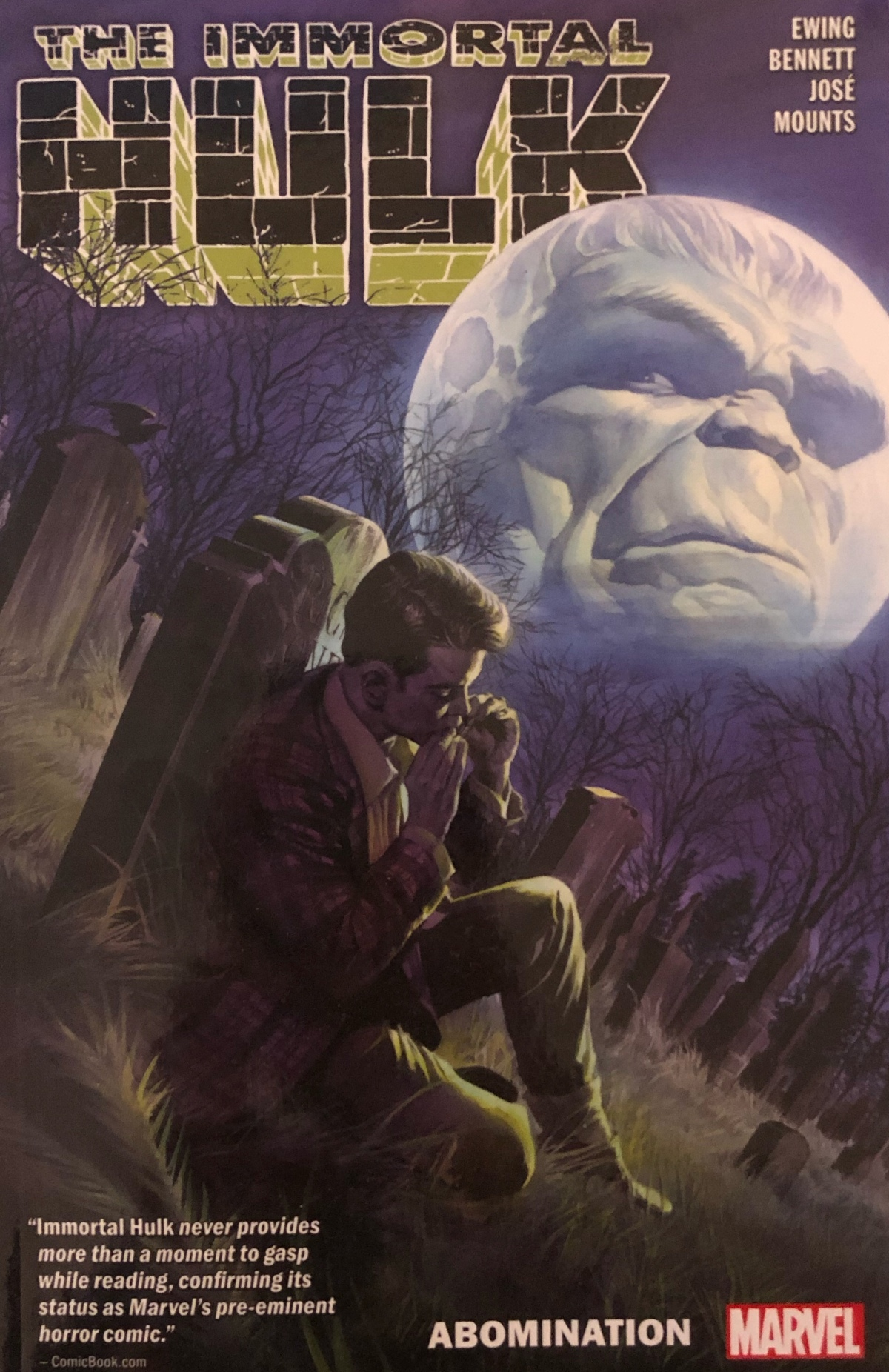 The Immortal Hulk Vol. 4: Abomination |Review