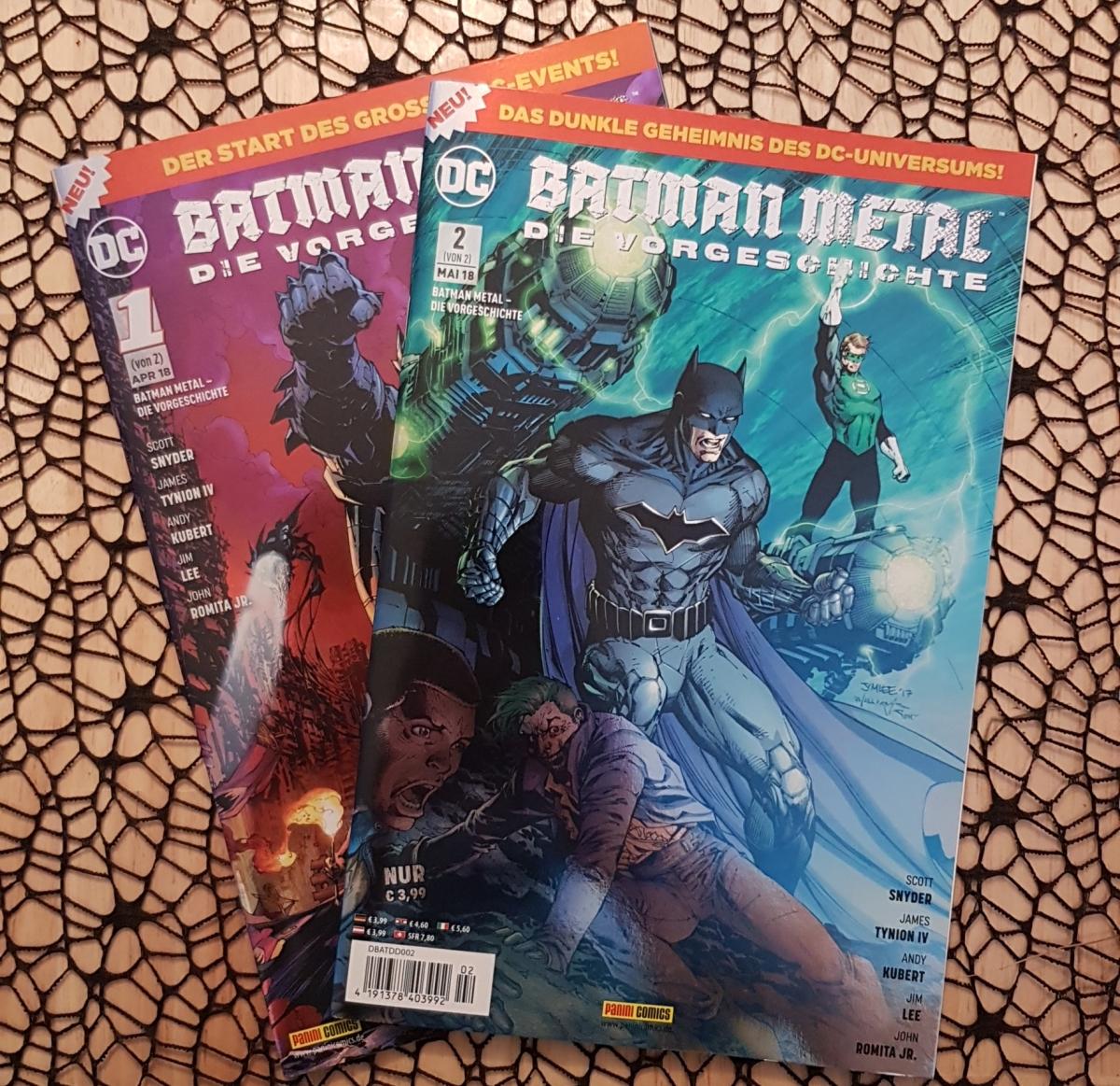 Batman Metal Vorgeschichte