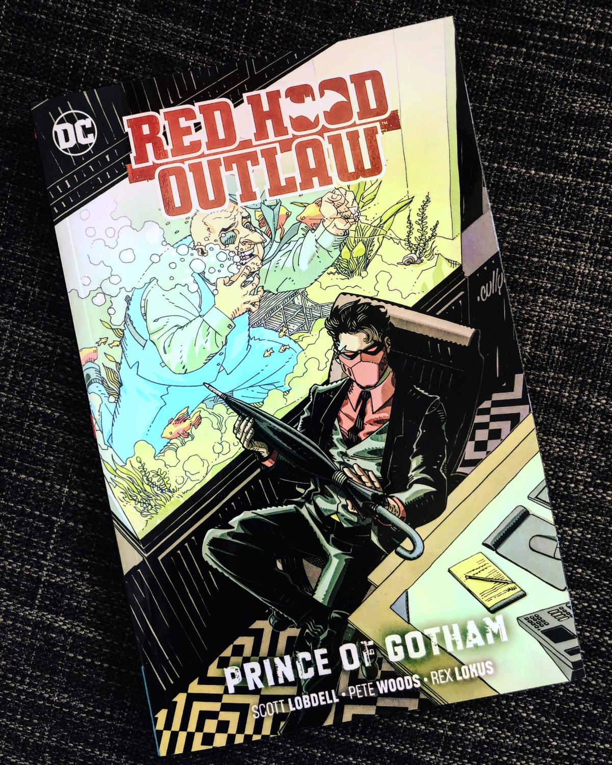 Red Hood: Outlaw Vol. 2: Prince of Gotham |Review