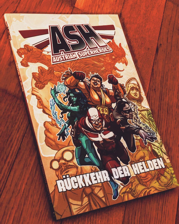 ASH – Austrian Superheroes Band 1: Rückkehr der Helden |Review