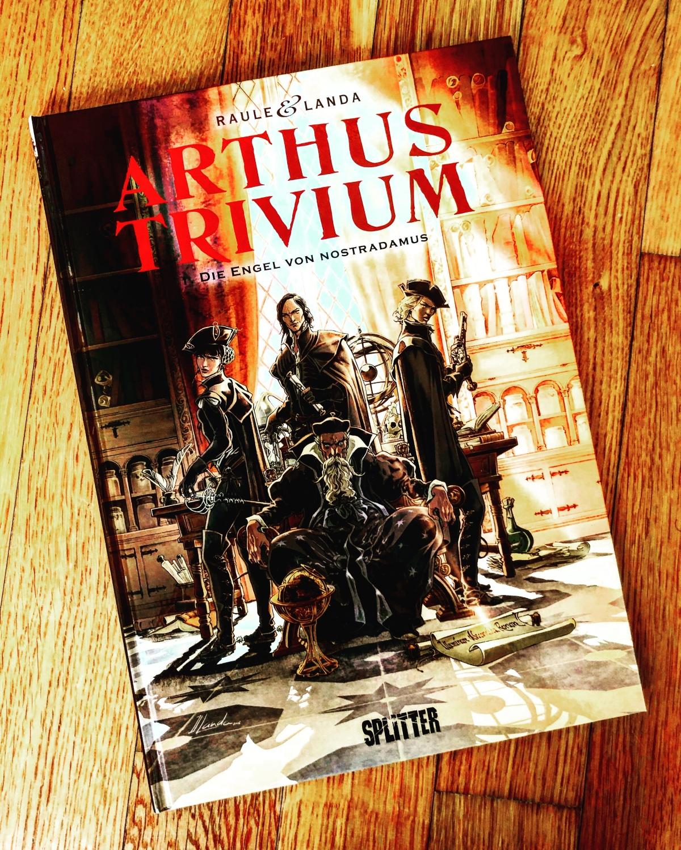 Arthus Trivium Band 1: Die Engel von Nostradamus |Review