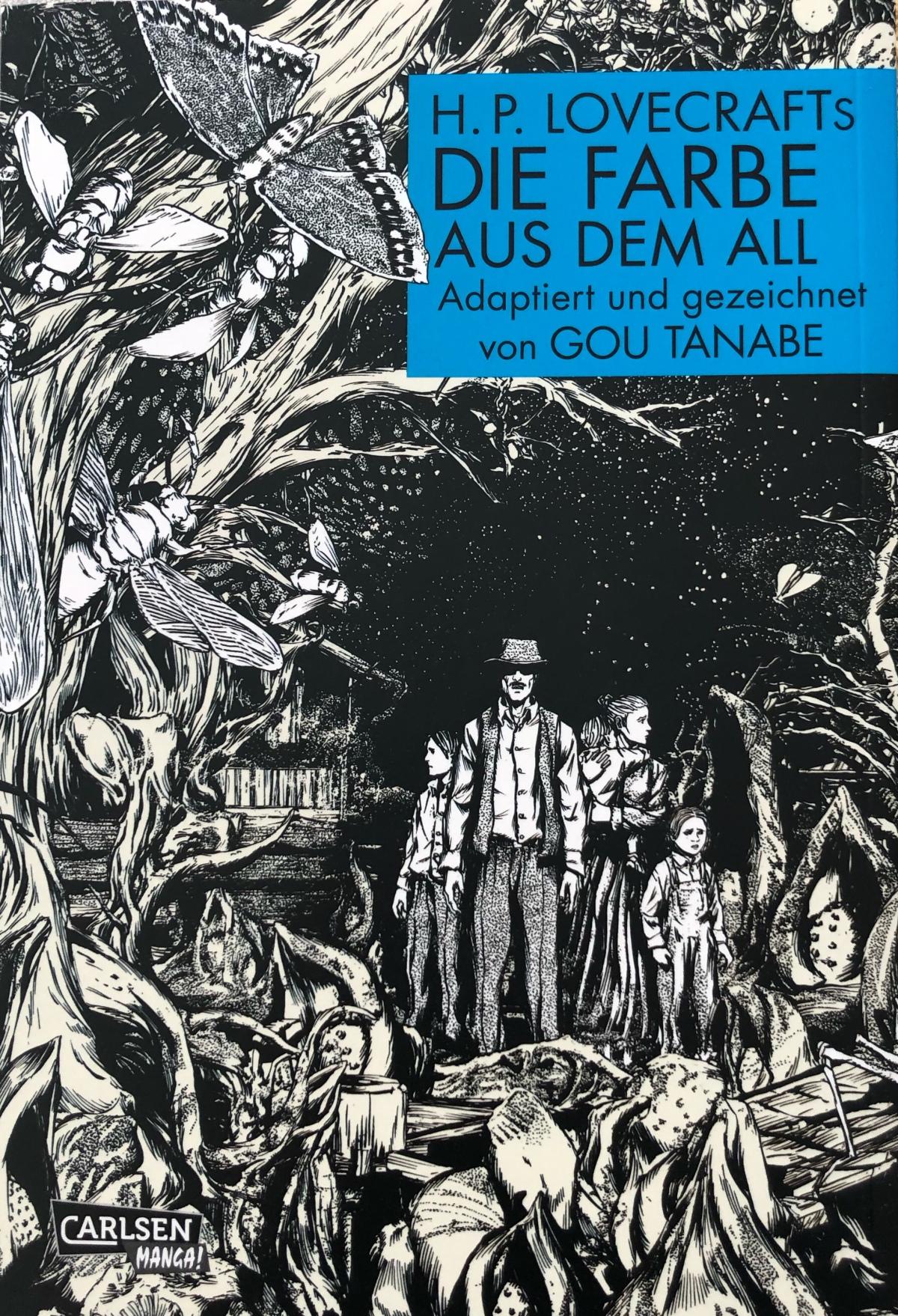 H. P. Lovecrafts Die Farbe aus dem All (Manga) | Review [Rezensionsexemplar]