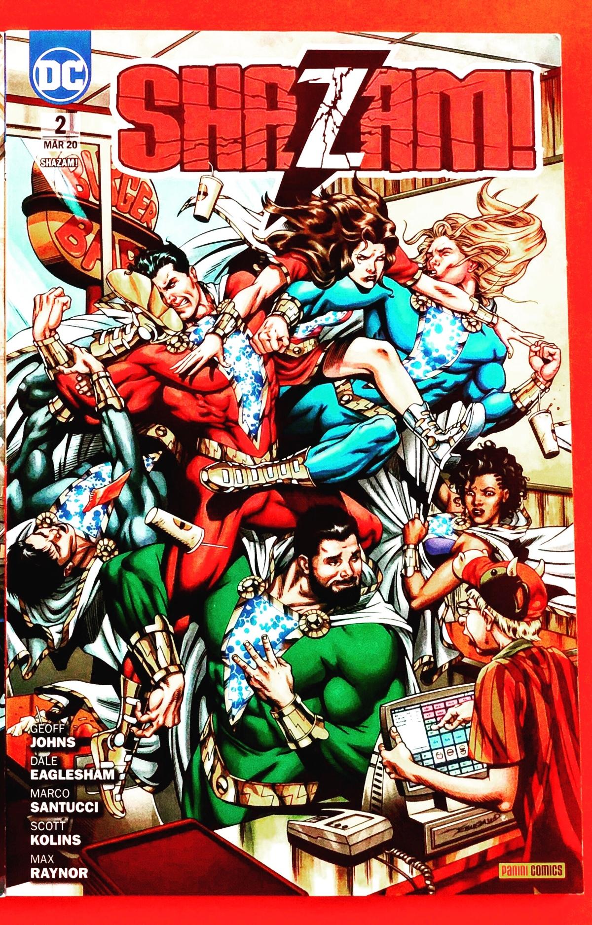 Shazam! Das Grab des Captain Marvel (Shazam! Band 2) |Review