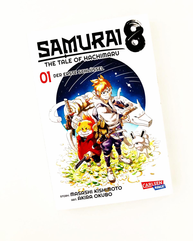 Samurai8: The Tale of Hachimaru 01 | Review [Rezensionsexemplar]
