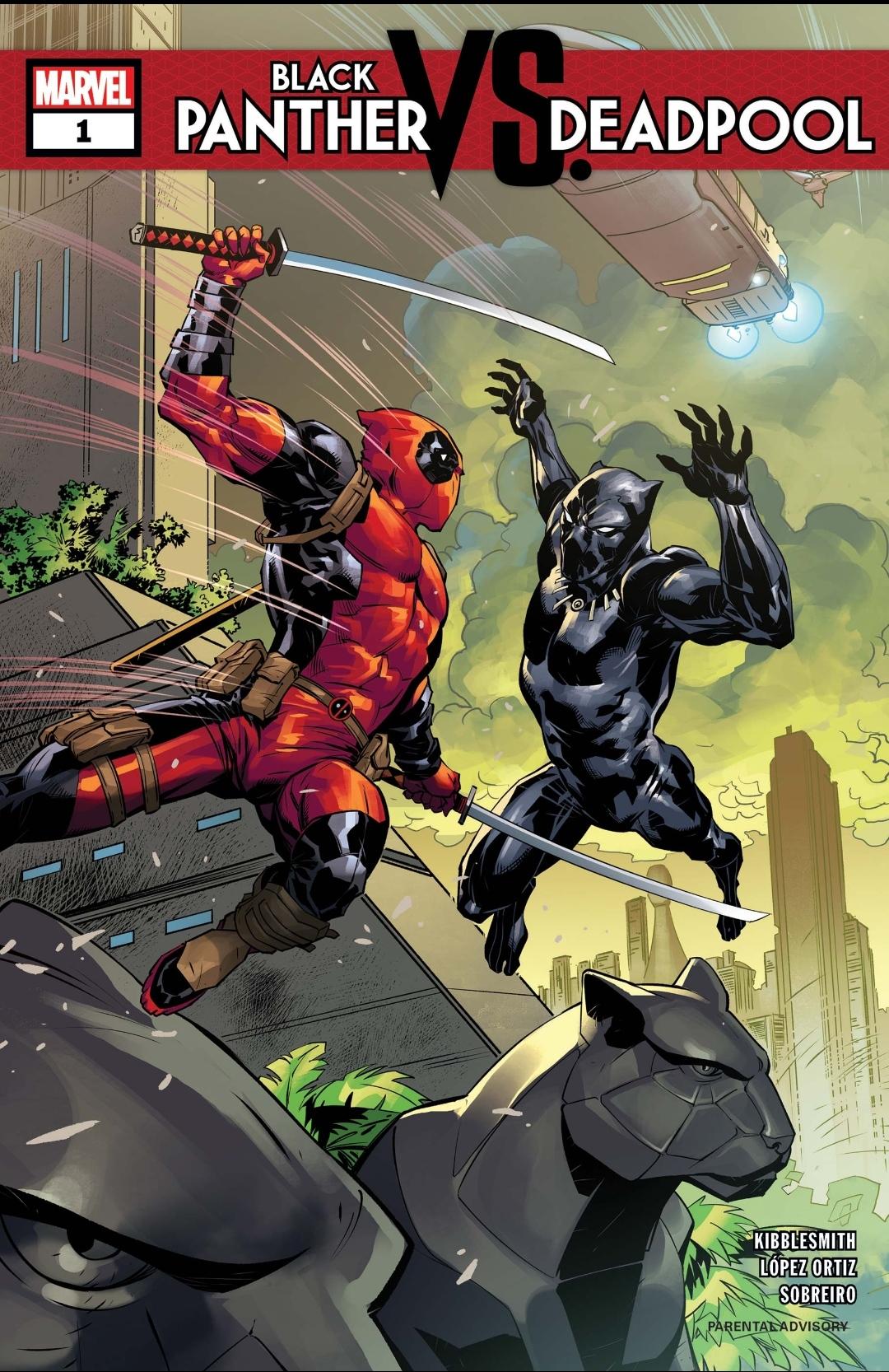 Deadpool vs. Black Panther: Für eine Handvoll Vibranium | Review[Gastbeitrag]