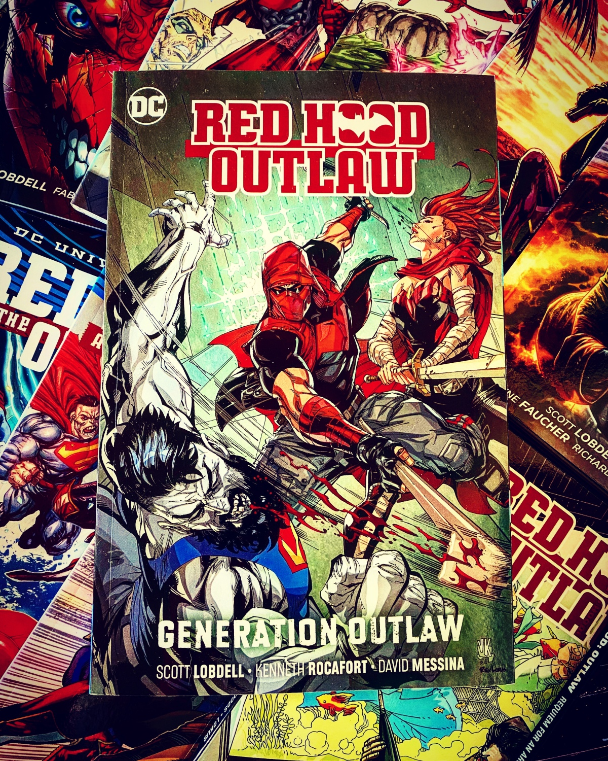 Red Hood: Outlaw Vol. 3: Generation Outlaw |Review