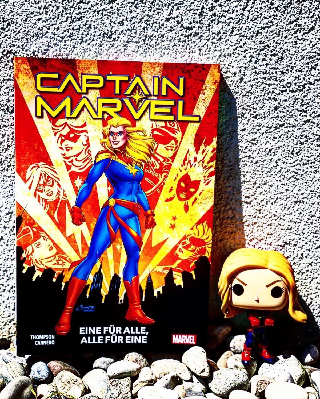 Captain Marvel Band 1: Eine für alle, alle für eine | Review (2019erSerie)