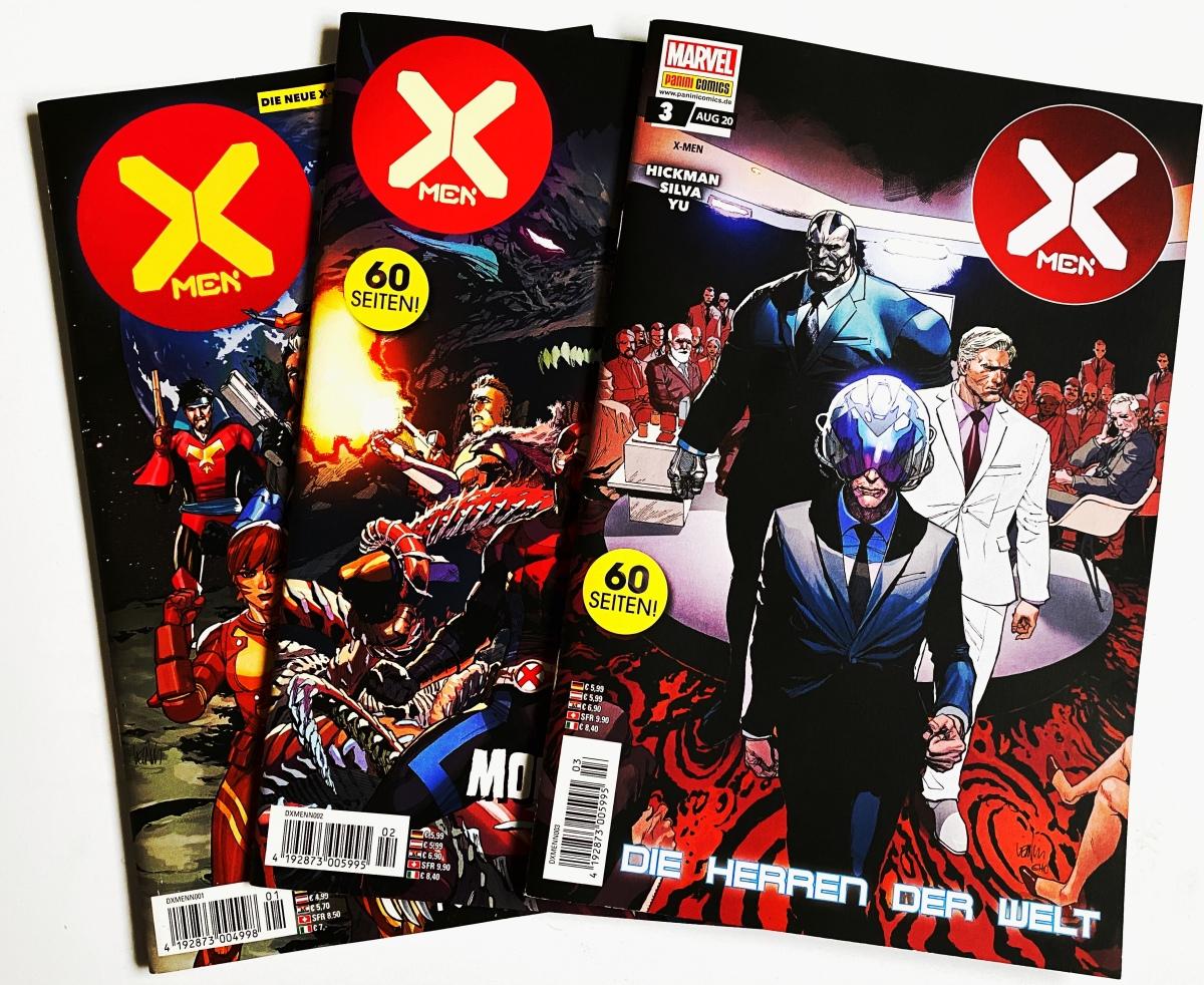 X-Men Heft 1 – 3 (2020 Serie) | Comic-Gequatsche #2 | Audio-Gedankenspiel