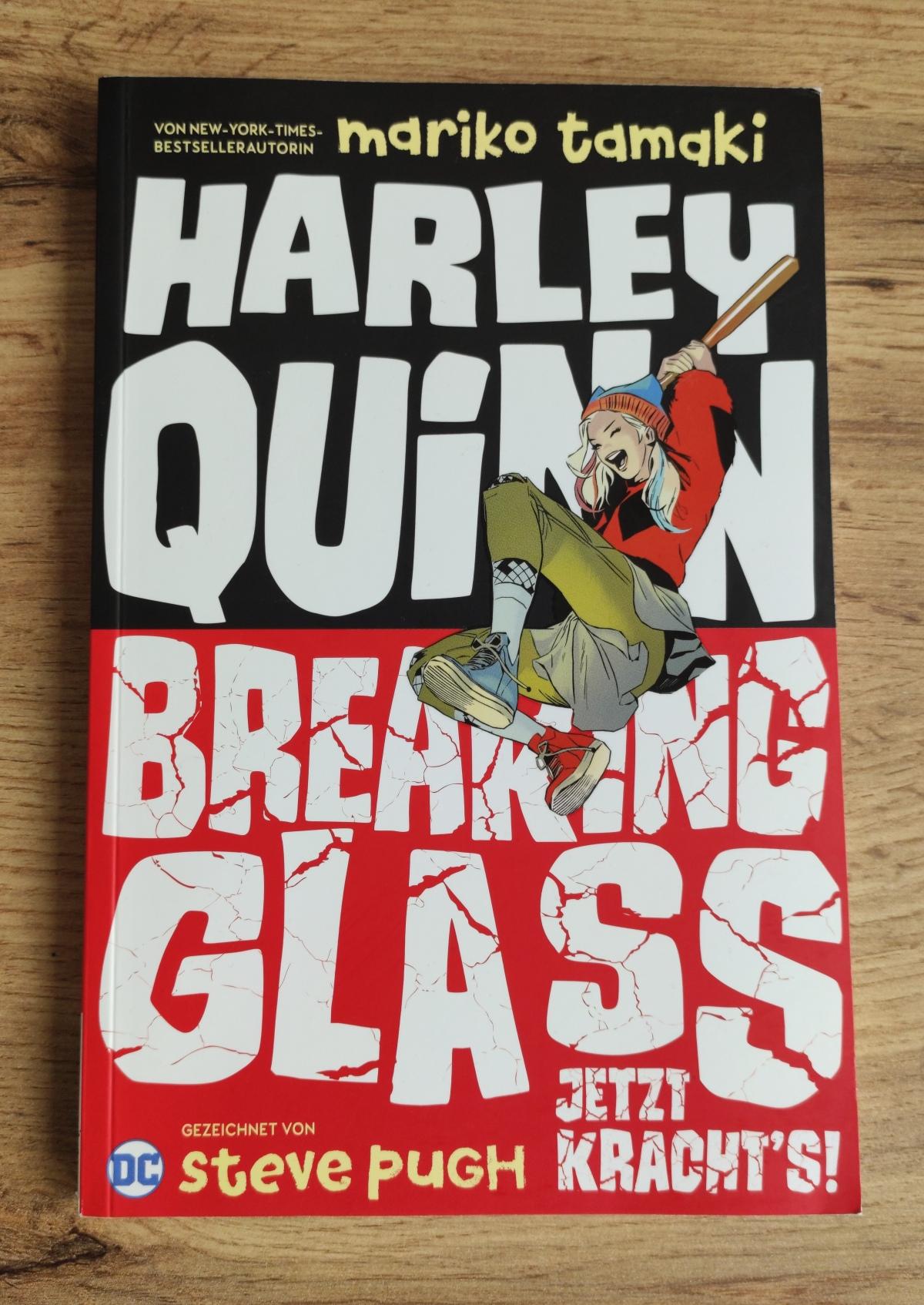Nerd.Ics liest … Harley Quinn – Breaking Glass |Review