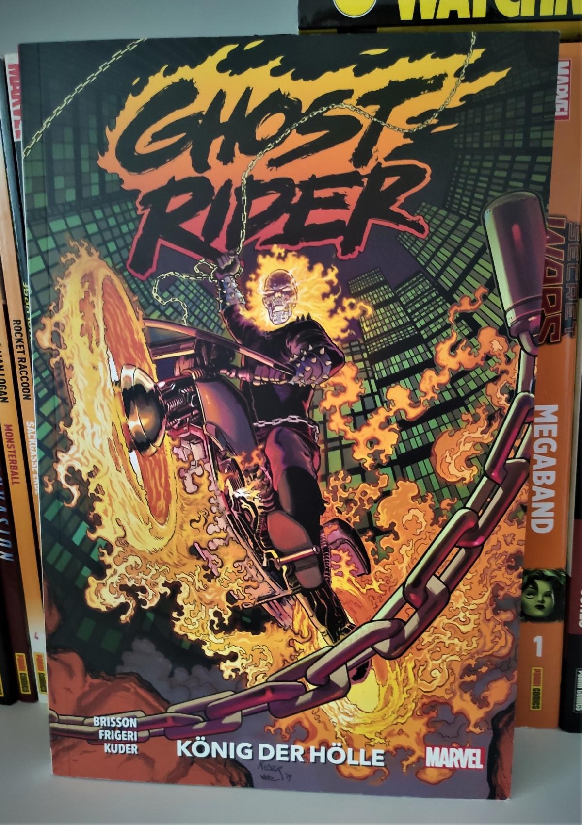 Nerd.Ics liest … Ghost Rider: König der Hölle |Review