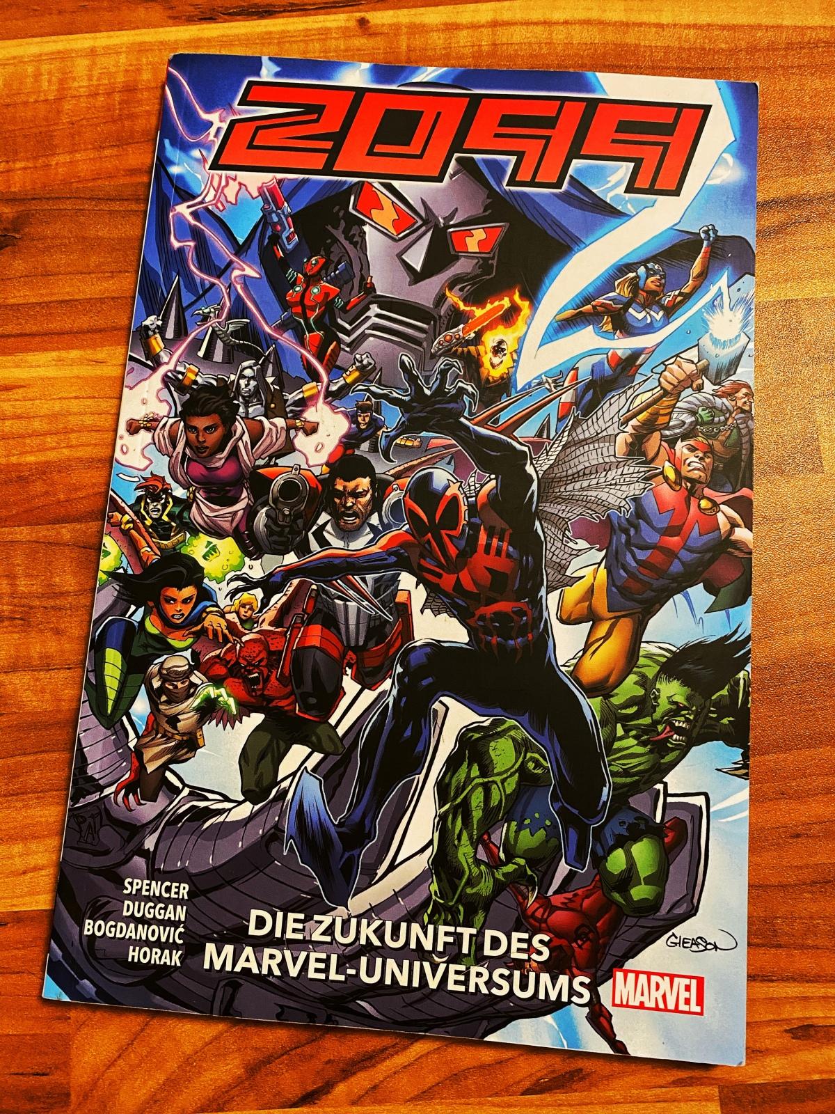 Marvel 2099 Band 1: Die Zukunft des Marvel-Universums | Gedankenspiel [Rezensionsexemplar]