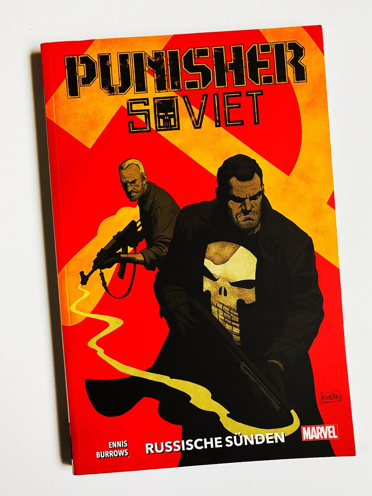 Punisher Soviet | Comic-Gequatsche #1 | Audio-Gedankenspiel