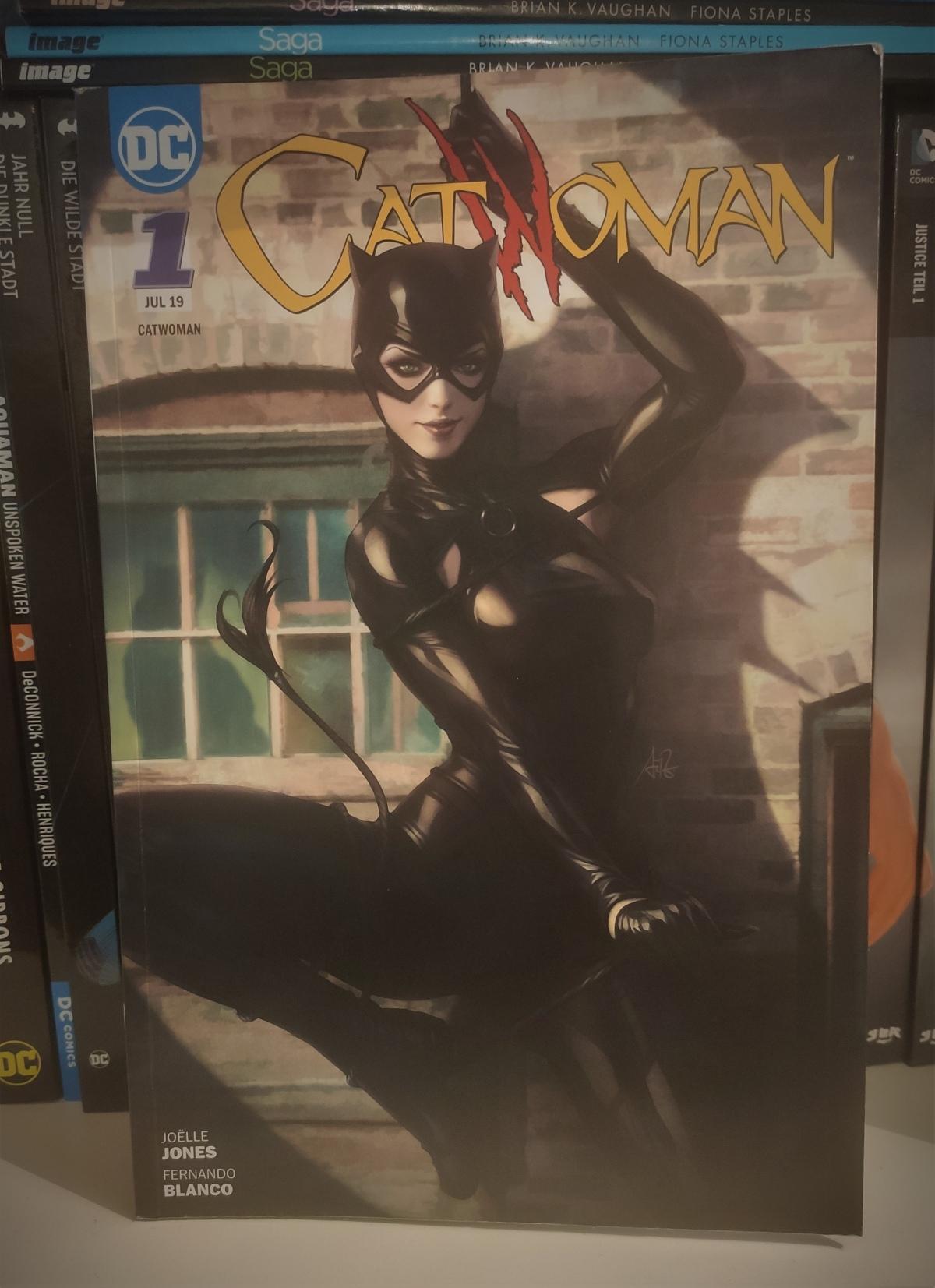 Nerd.Ics liest … Catwoman BD 1: Copycats |Review