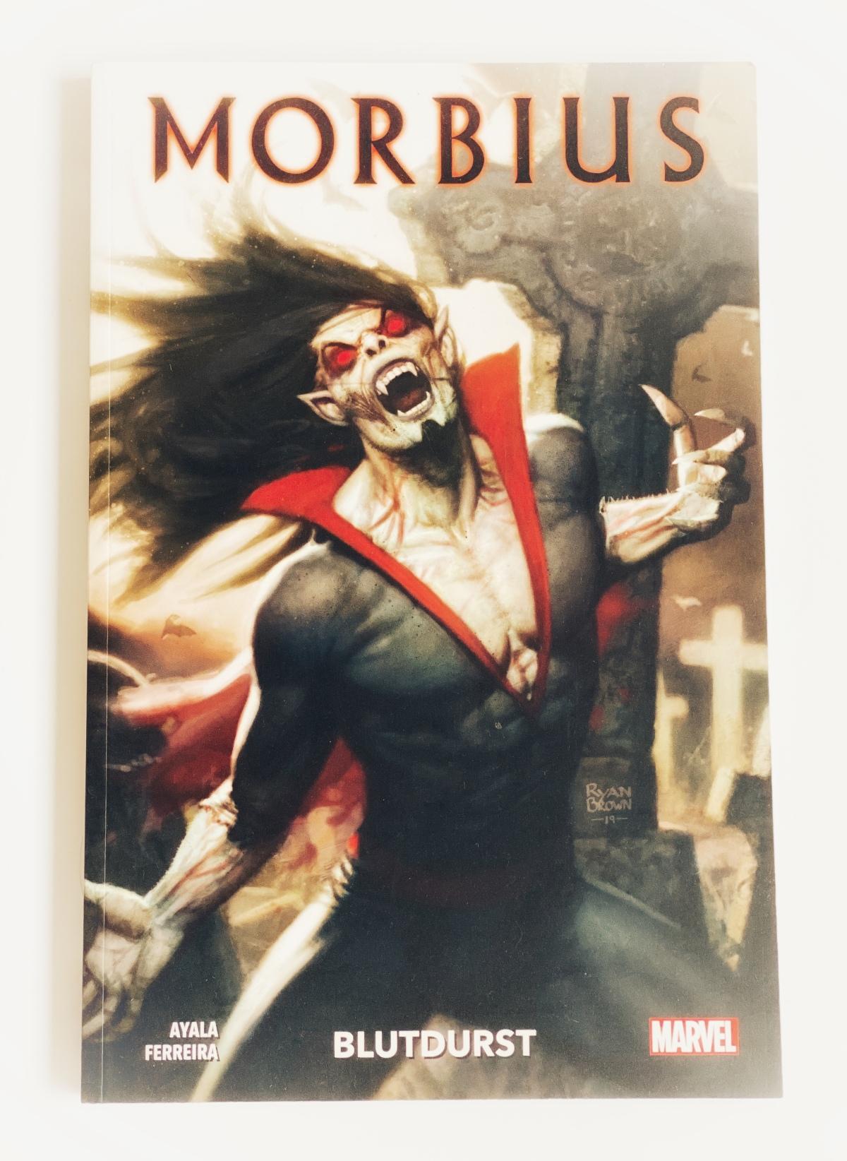 Morbius Band 1: Blutdurst | Review | Gruselween Vol. 2#18