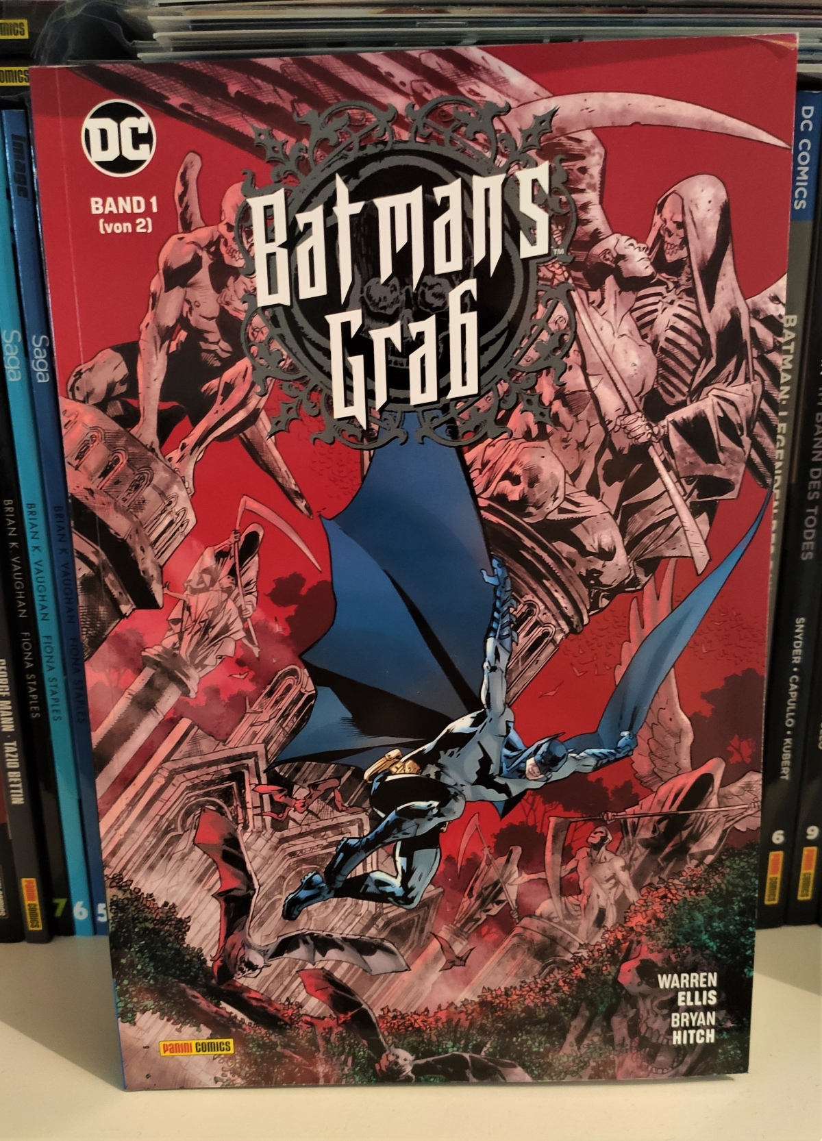 Nerd.Ics liest … Batmans Grab Bd. 1 |Review