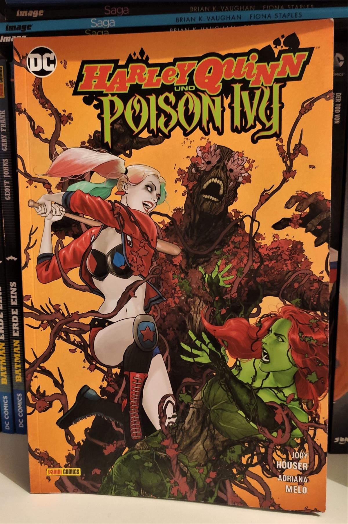 Nerd.Ics liest … Harley Quinn und Poison Ivy |Review