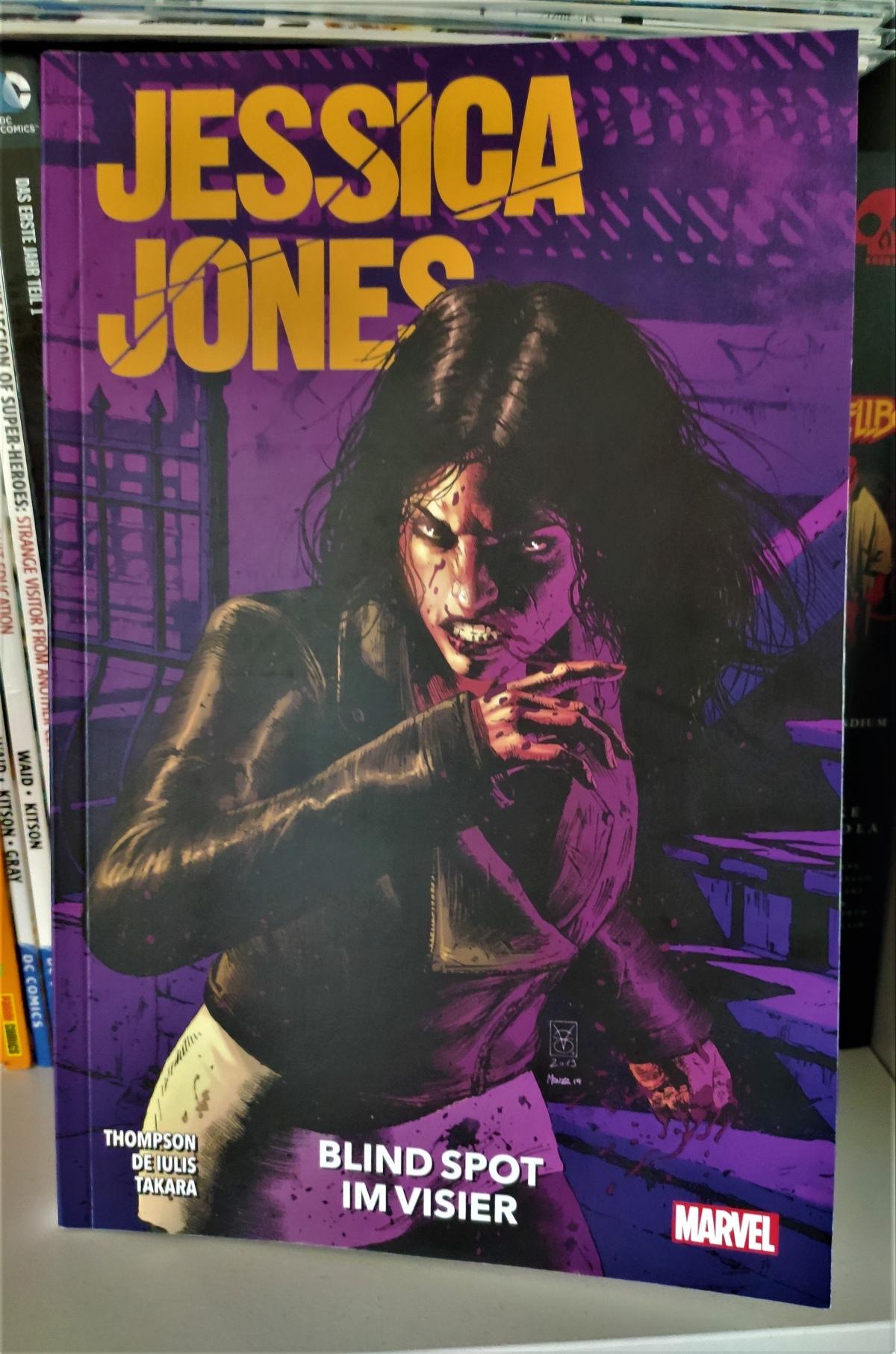 Nerd.Ics liest … Jessica Jones Blindspot: Im Visier |Review