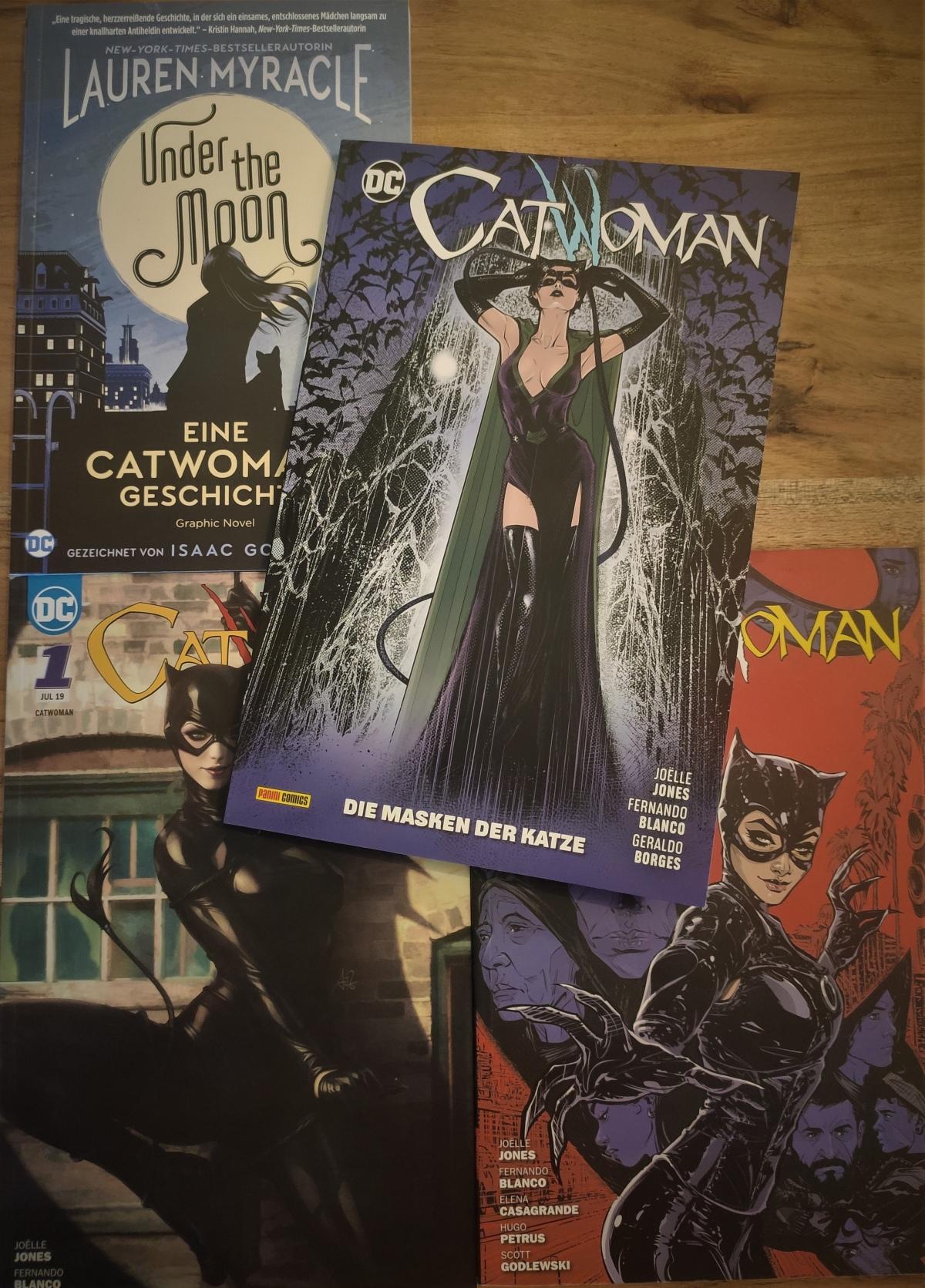 Nerd.Ics liest … Catwoman Bd. 3: Die Masken der Katze |Review