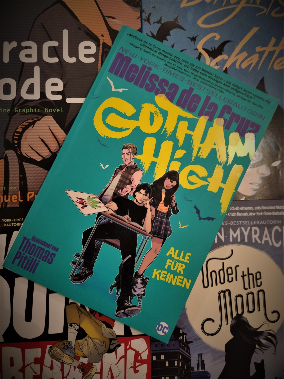 Nerd.Ics liest … Gotham High: Alle für keinen |Review