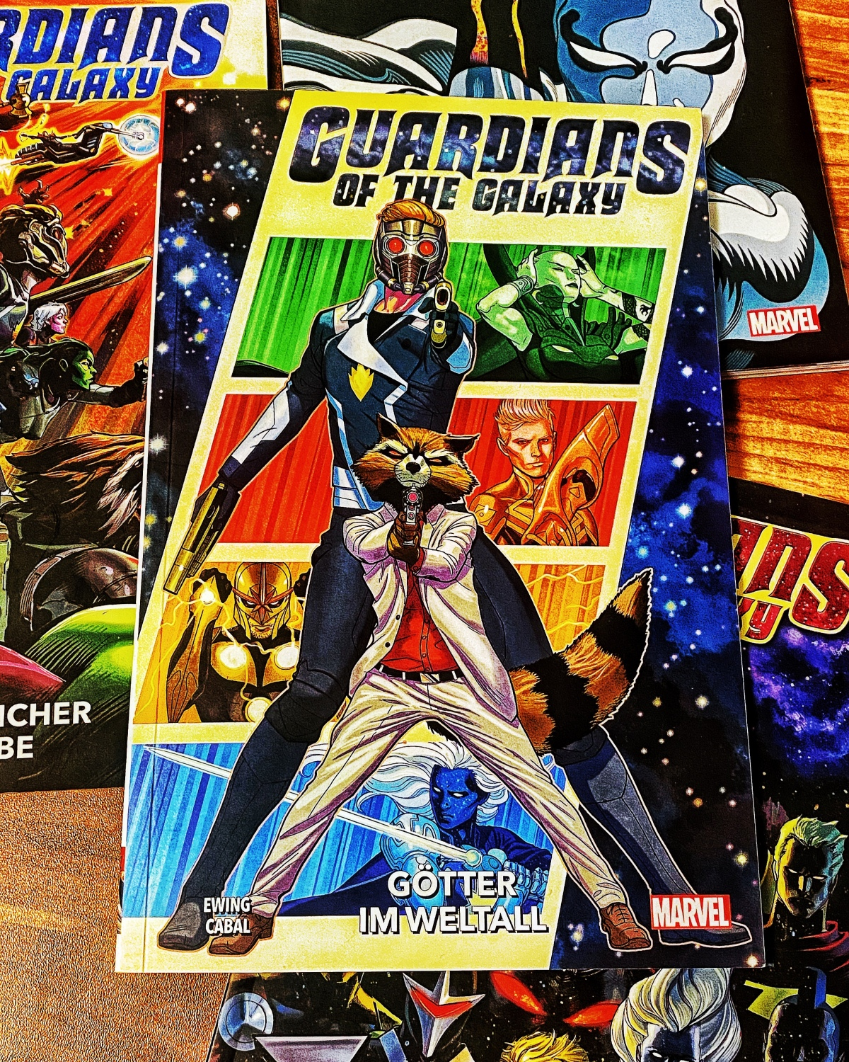 Guardians of the Galaxy Band 3: Götter im Weltall |Review
