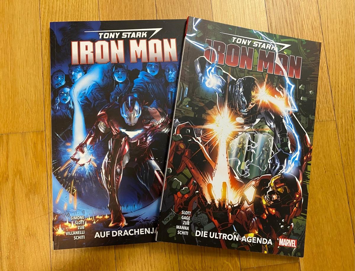 Ein Blick auf Tony Stark: Iron Man Band 3 &4