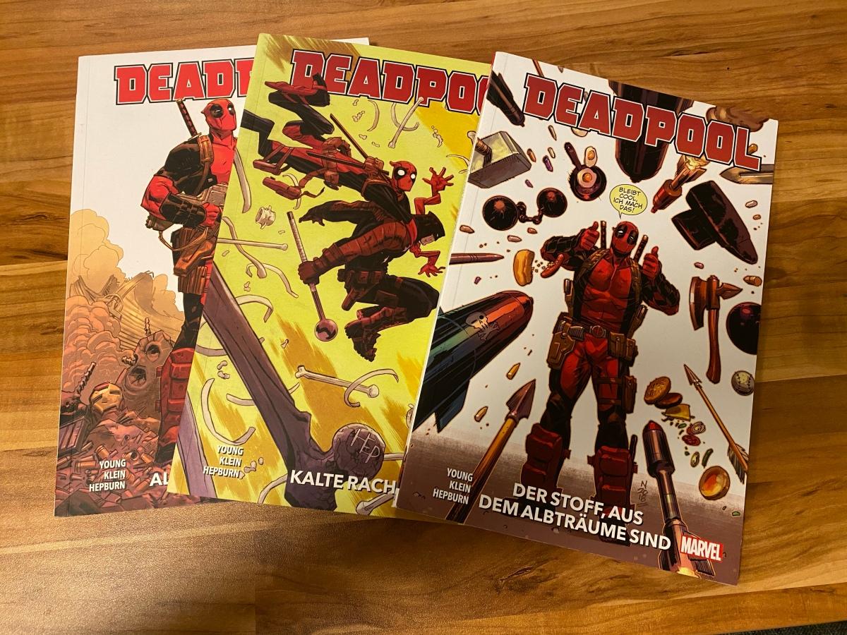 Ein Blick auf ein paar DeadpoolComics!