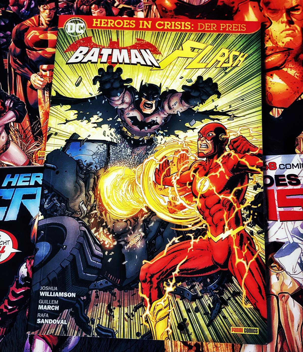 Batman/The Flash: Der Preis | Review [Heroes inCrisis]