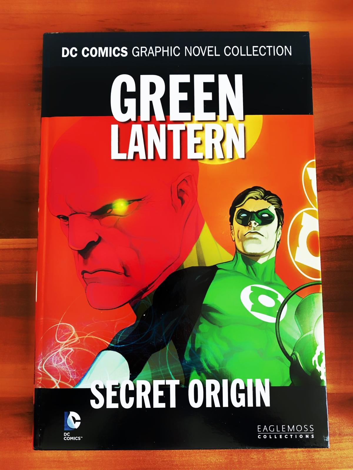 Ein kurzer Kommentar zu … Green Lantern: SecretOrigin