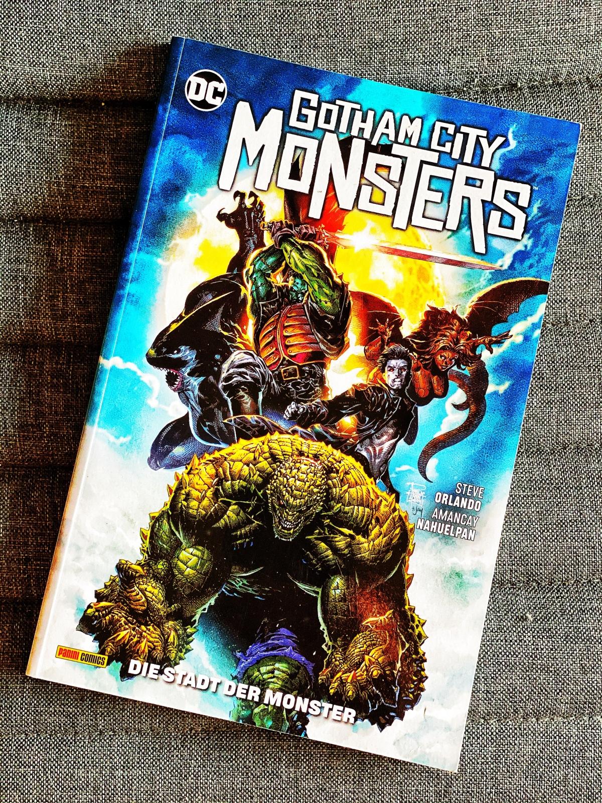 Ein kurzer Kommentar zu … Gotham City Monsters: Die Stadt derMonster